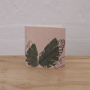 Plantable Gift Tags Pack of 6 l Palms