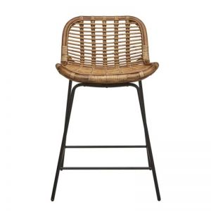 Plantation Butterfly Barstool | Natural | Pre Order