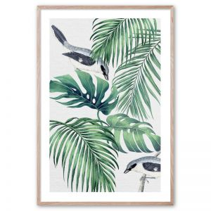 Plantation Green #1 | Framed Giclee Art Print by Wall Style