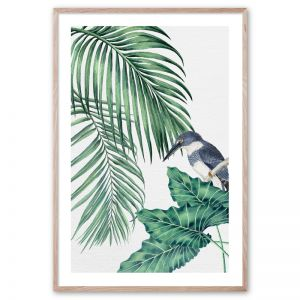 Plantation Green #4 | Framed Giclee Art Print by Wall Style
