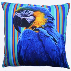 Polly Wants a What? | Outdoor Cushion Cover Extra Large 60cm