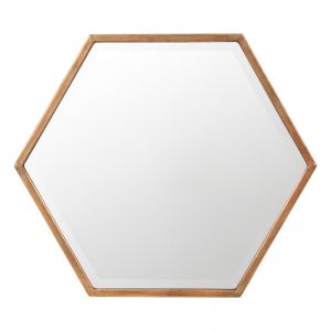 Polygon Mirror | Bronze | Schots