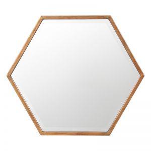 Polygon Mirror | Bronze | Schots