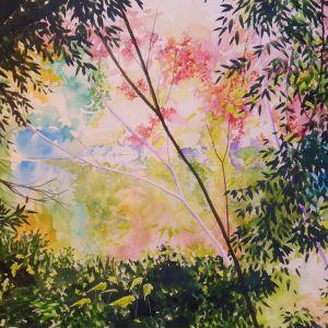 Pond in Kyoto | Original Watercolour Artwork