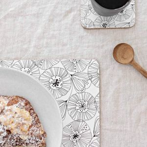 Poppy Cork Backed Placemats