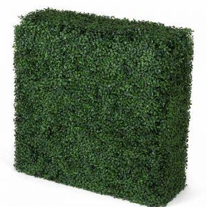 Portable Boxwood Hedge | UV Resistant | 75cm x 75cm