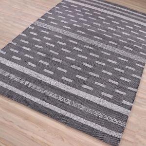 Porter Charcoal Grey Hand Woven Rug