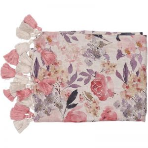 Posy Throw | Rose Floral