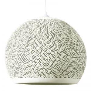 Pott Project Clay Pendant | Sponge Up | Sponge Up - Small - White