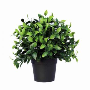 Potted Artificial Jasmine Plant   UV Resistant
