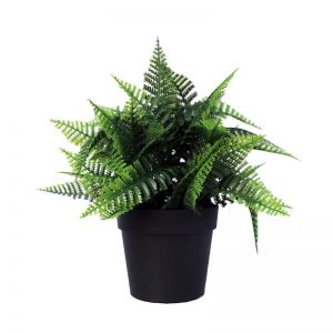 Potted Artificial Persa Boston Fern Plant | UV Resistant