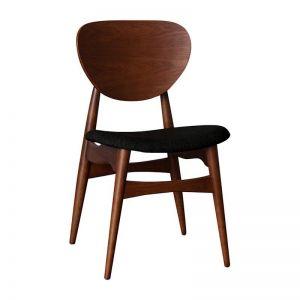 Potter Dining Chair | Walnut & Black