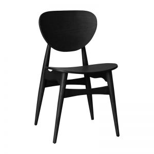 Potter Timber Dining Chair | Ash Stained Black