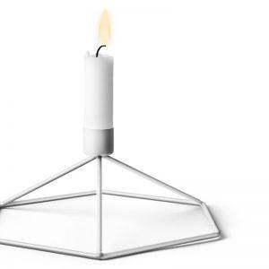 POV Candleholder Table | White