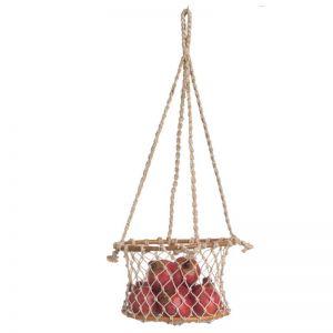Prairie | Hanging Macrame Basket | Indoor Use Only