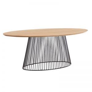 PRE-ORDER - August Arrival | Leska Oval Table | 200cm