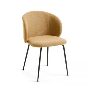 PRE_ORDER - August Arrival | Minna Chair | Mustard