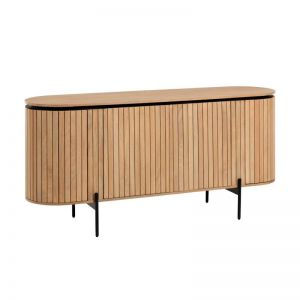 PRE-ORDER - October Arrival | Licia Rounded Timber Sideboard