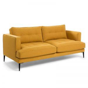 PRE-ORDER | Vinny Three Seat Sofa | Mustard