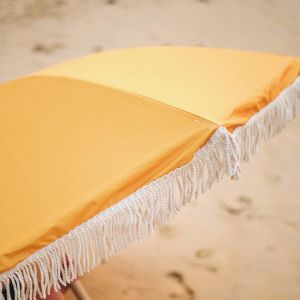 Premium Beach Umbrella - Saffron