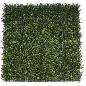Premium Natural Buxus Hedge Panels | UV Resistant | 1m x 1m