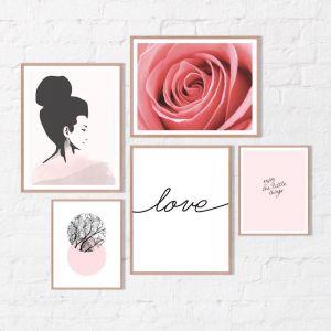 Pretty Pinks | Framed Print Set | Artefocus