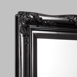 Princess Mirror | Gloss Black