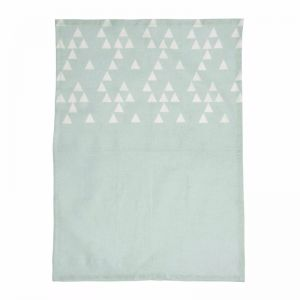 Printed Linen Tea Towels | Glacier Blue