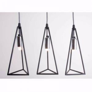 Prism | Metal Cage Pendant Light | Various Colours