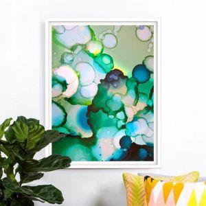 Puddles   Framed Art