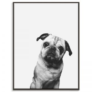 Pug | Canvas or Print by Artist Lane