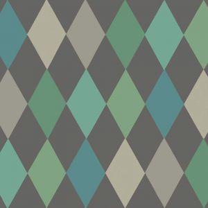 Punchinello Wallpaper - Green