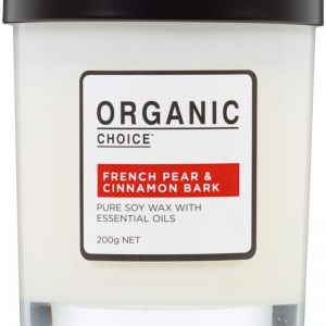 Pure Soy Candle | French Pear & Cinnamon Bark | 200g
