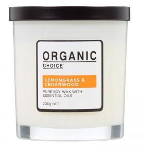 Pure Soy Candle | Lemongrass & Cedarwood | 200g