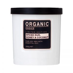 Pure Soy Candle | Spiced Rum, Honey & Coconut | 200g
