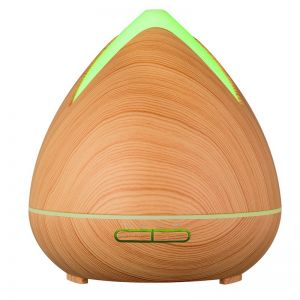PureSpa Cool Mist Ultrasonic Diffuser w/ 3 Pack Oils - Light Wood