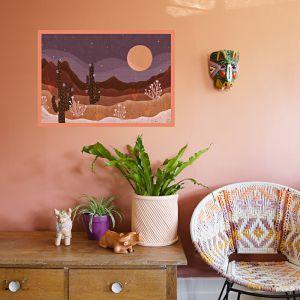 Purple Skies by Gussy Dup | Art Print | Large