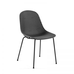 Quinby Chair   Grey