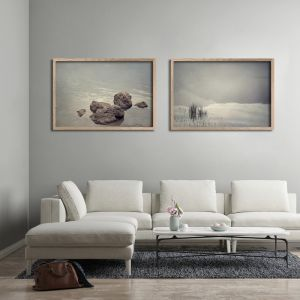 Quintessentially Quiet | Set of 2 Art Prints | Framed or Unframed