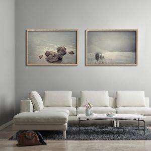 Quintessentially Quiet | Set of 2 Art Prints | Unframed