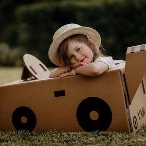 Race Car   Cardboard toy