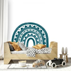 Rainbow Arch in Dark Teal by Pick a Pear   Wall Decals