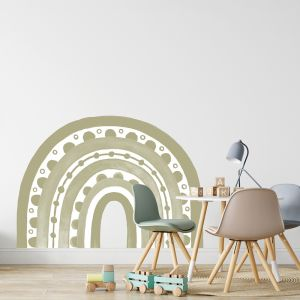 Rainbow Arch in Sage by Pick a Pear | Wall Decals