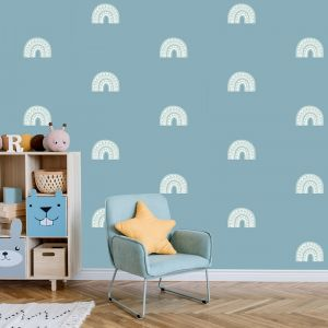 Rainbow Arch Mini in Haze by Pick a Pear | Wall Decals