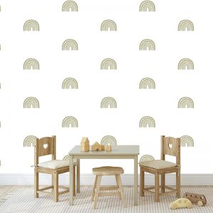 Rainbow Arch Mini in Sage by Pick a Pear | Wall Decals