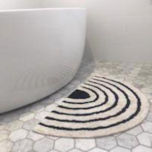 Rainbow Bath Mat | Ebony and Ivory