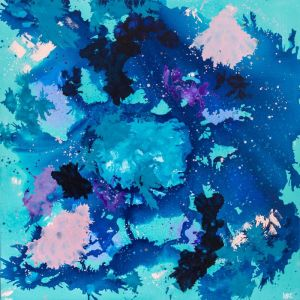 'Rainbow Cale, Coral and Damselfish' by Katie McKinnon   Limited Edition Print