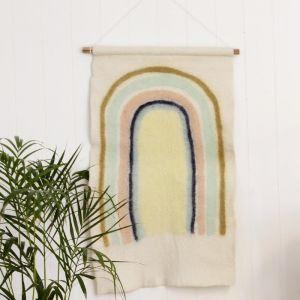 Rainbow Felt Wall Hanging
