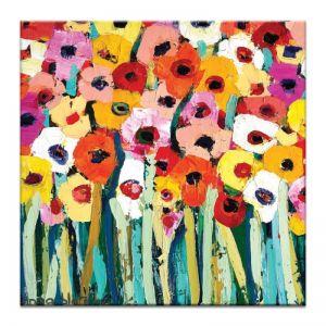 Rainbow Garden | Anna Blatman | Canvas or Print by Artist Lane