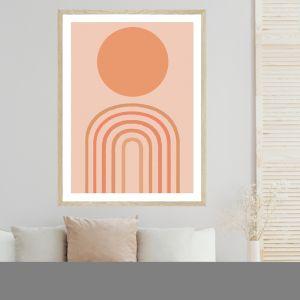 Rainbow Sun | Art Print